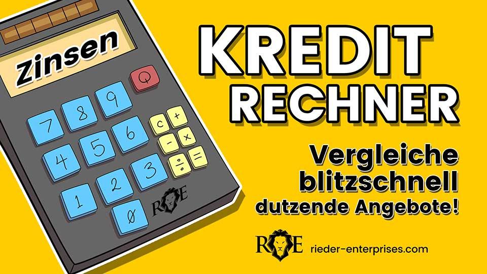 Kreditrechner-Kreditvergleich-Geld-leihen