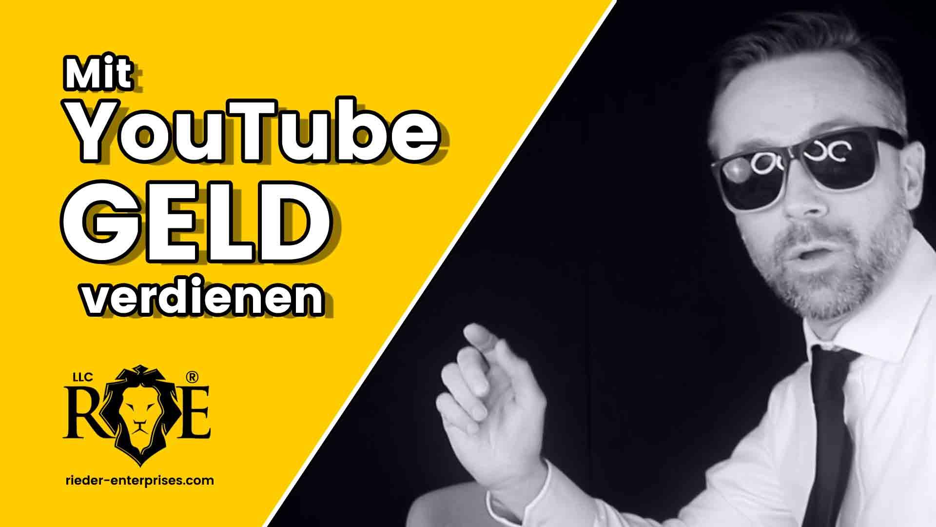 Mit Youtube Geld Verdienen Anleitung