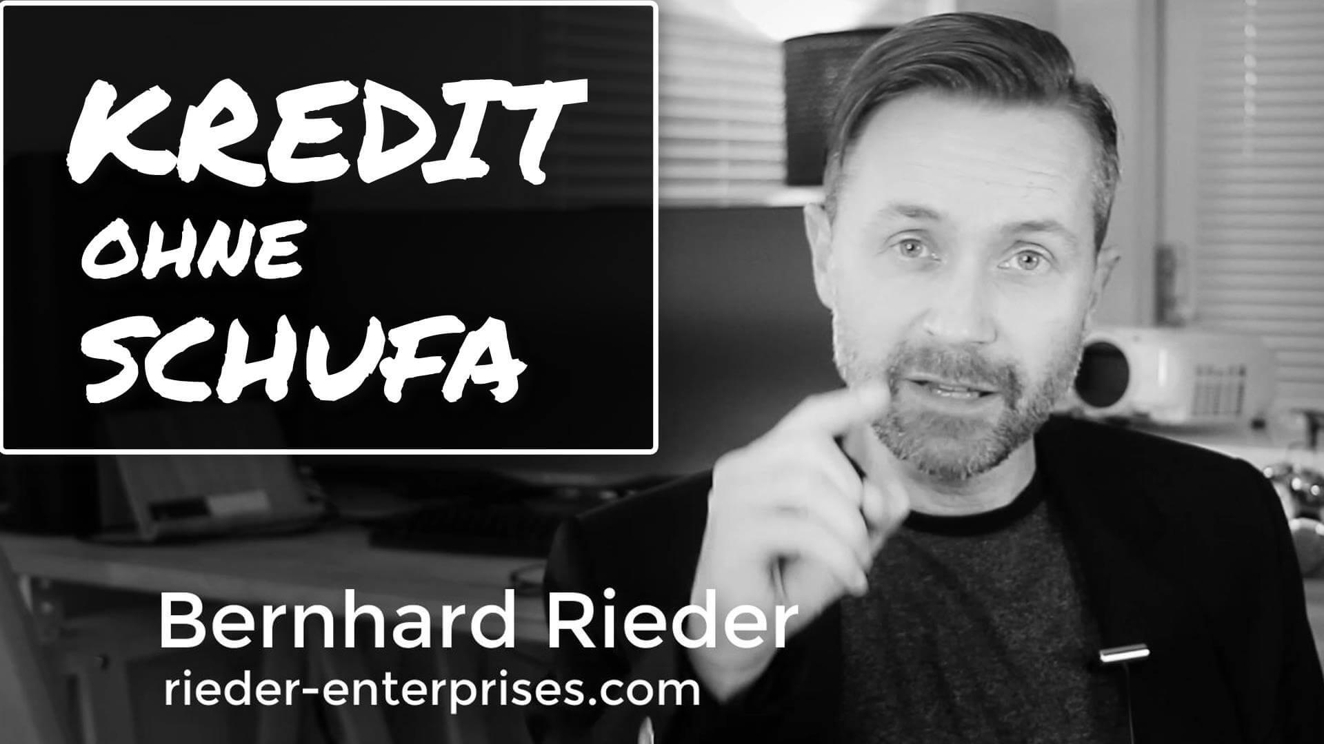 Kredit ohne Schufa Abfrage und Bonitätsprüfung beantragen