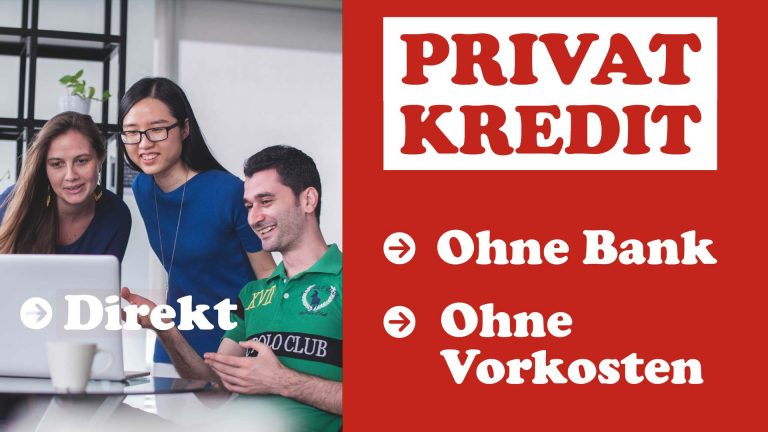 Privatkredit ohne Bank