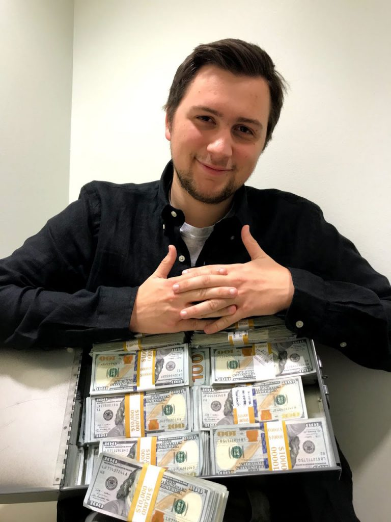 Reich und verschenke geld bin ich Warum fühle