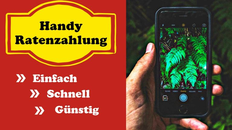Handy-Ratenzahlung