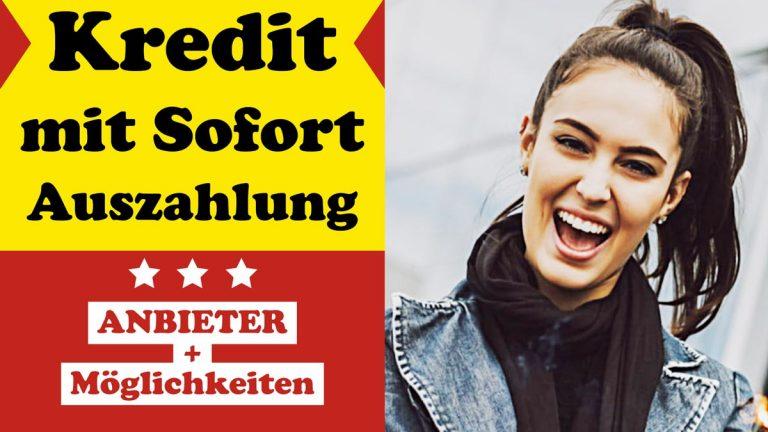 Kredit-Sofortauszahlung