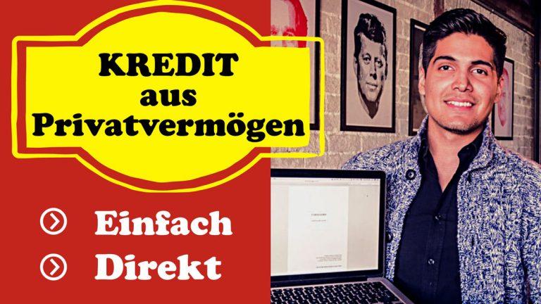 Biete Kredit von Privat